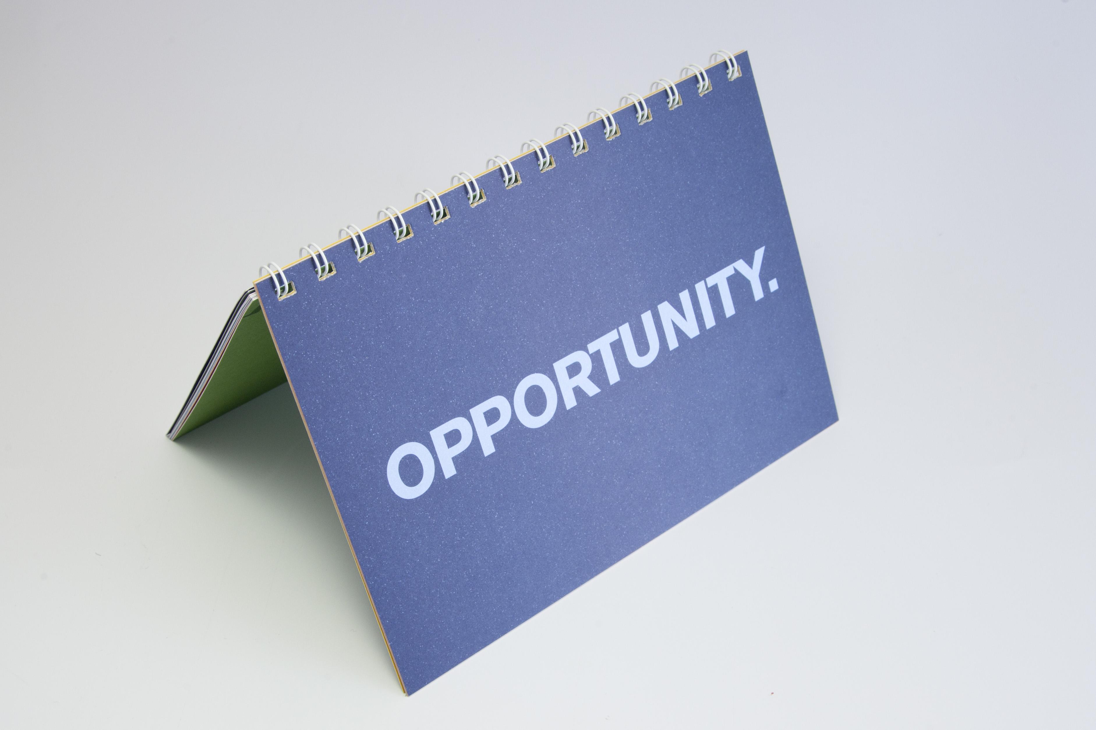 Opportunity spiral bound