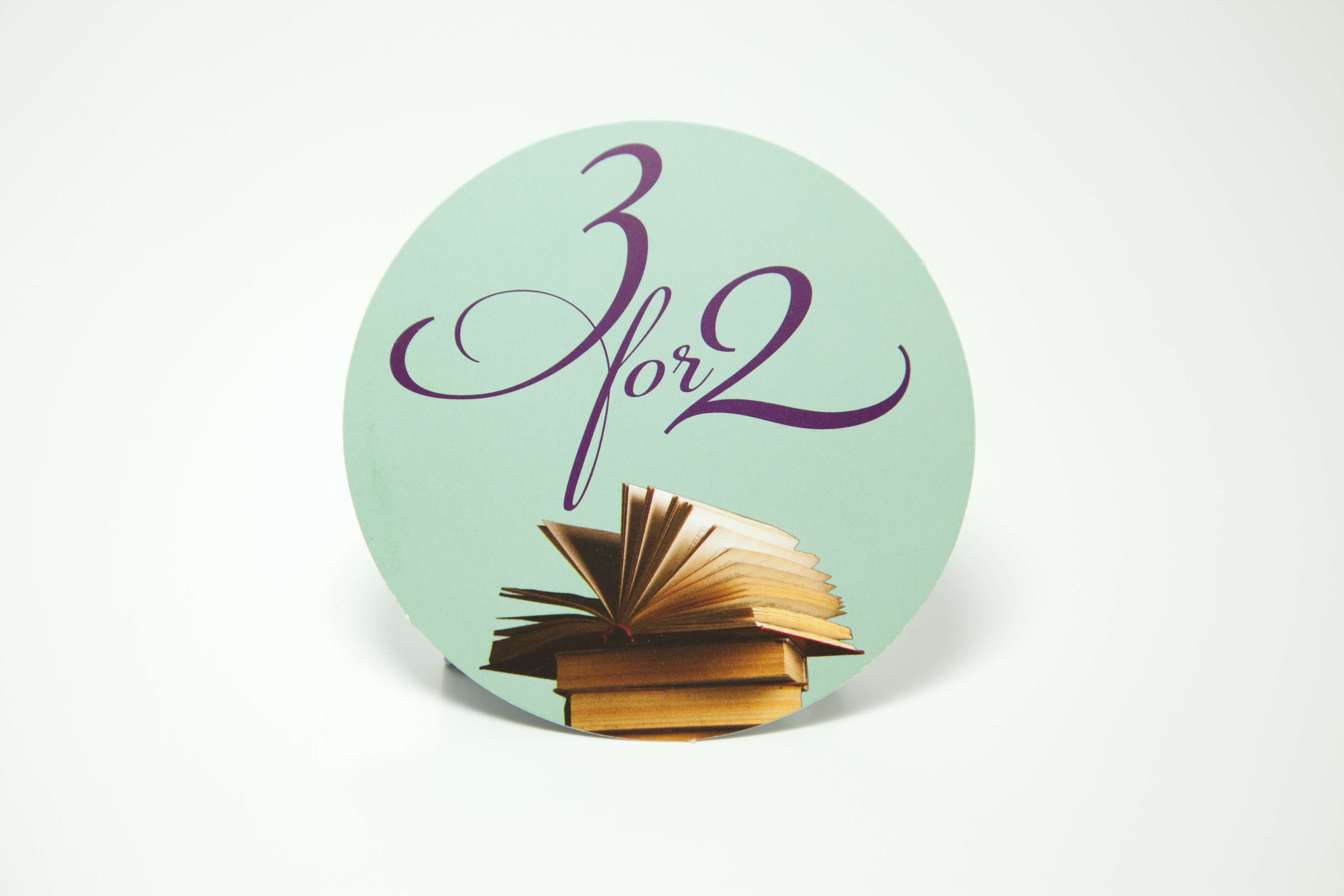 3 for 2 sticker digital print
