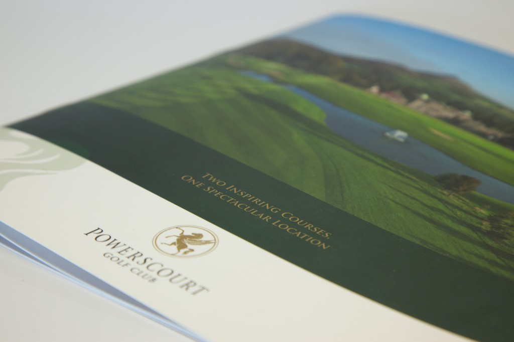 Colour printed booklet