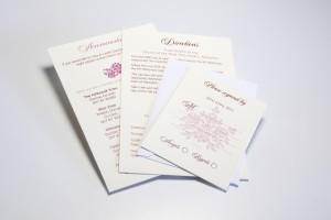 Wedding invitations letterheads