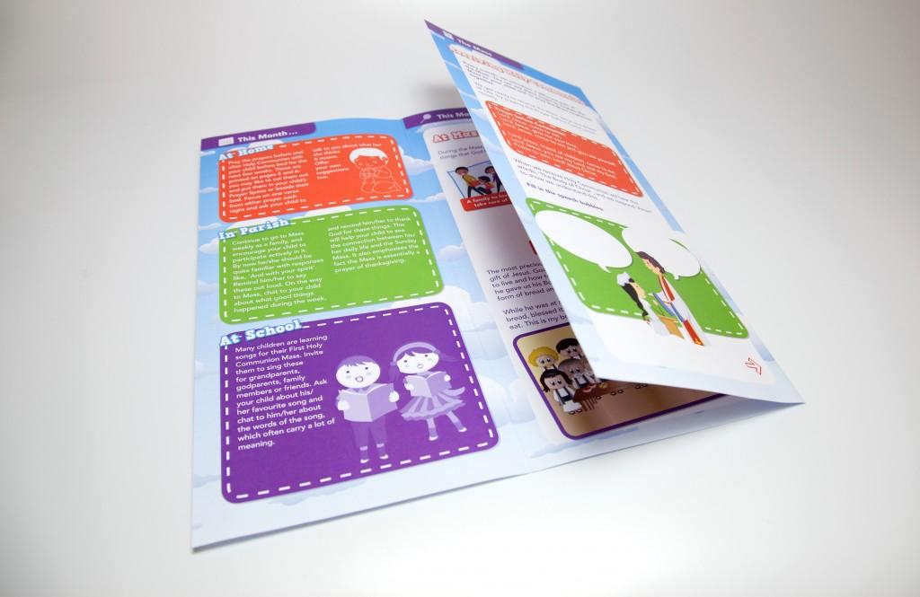 Newsletter digital print colour
